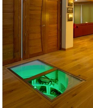 the trap door wine cellar | spot cool stuff: design