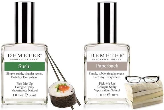 The Unusual Fragrances of Demeter