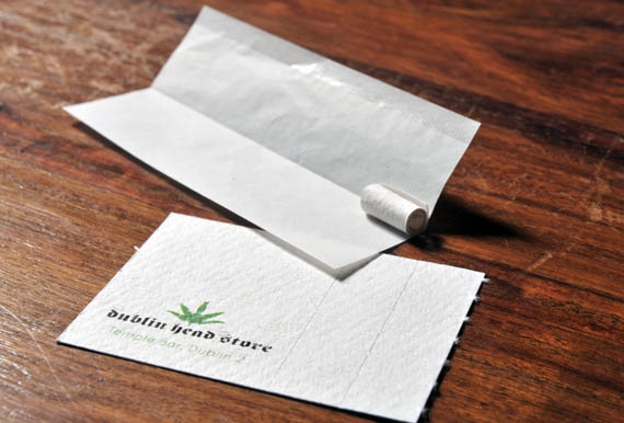 Useful, Unusual Business Cards: Head Shop Joint Filter Business Card