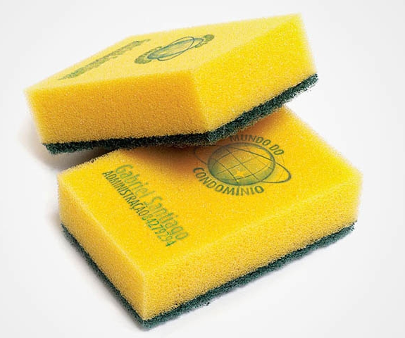 Useful, Unusual Business Cards: Sponge