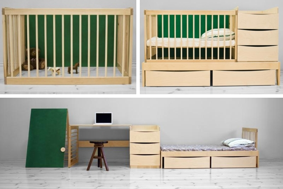 Baby and Kid Furniture That Grow With Your Child | Spot Cool Stuff ...