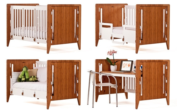 Transforming Kids Furniture: GRO Convertible Bed