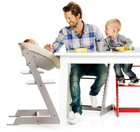 Furniture That Grows with Children: Stokke High Chair