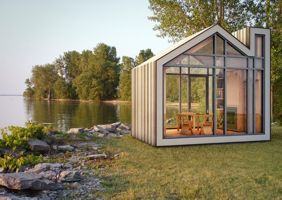 The Bunkie: cool mobile home architecture