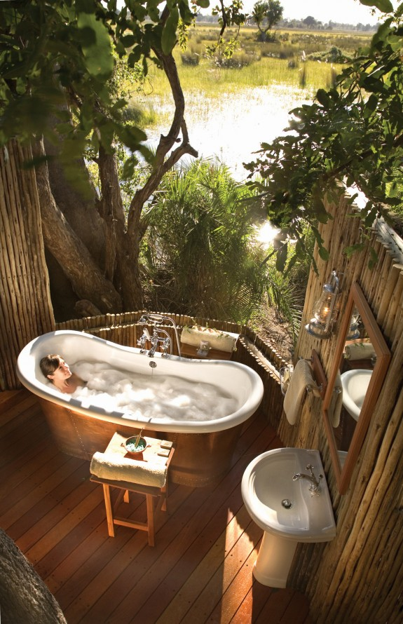 10 Cool Bathrooms: Orient Express Safari Camps