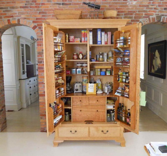 Kitchen Organization Ideas: Pantry Cabinet
